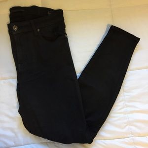 7 for all mankind Black Jeans 👖